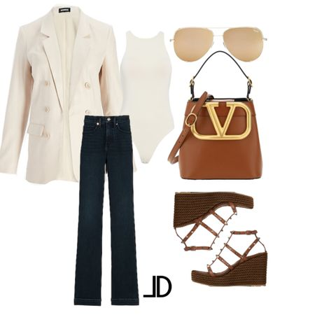 Wear-to-work  Business casual, work outfit, express blazer, express jeans, valentino tote bag, valentino wedges mules, sandals, sunglasses, designer bag, dark wash jean, Target style, Amazon finds, Shein finds   $100 off $250 Express             Follow me and style with me! I am so glad and grateful you are here!🥰 @lindseydenverlife 🤍🤍🤍                      _________ #express #Leeannbenjamin #stylinbyaylin #cellajaneblog #lornaluxe #lucyswhims #amazonfinds #walmartfinds #interiorsesignerella #lolariostyle      Follow my shop on the @shop.LTK app to shop this post and get my exclusive app-only content!  #liketkit  @shop.ltk http://liketk.it/3kzeY Follow my shop on the @shop.LTK app to shop this post and get my exclusive app-only content!  #liketkit #LTKstyletip #LTKsalealert #LTKworkwear @shop.ltk http://liketk.it/3kzgM