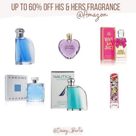 Up to 60% off HIS & HERS Fragrance @amazon Brands like Vera Wang, Nautical, Kenneth Cole, Ed Hardy & more!    #LTKsalealert #LTKGiftGuide #LTKbeauty