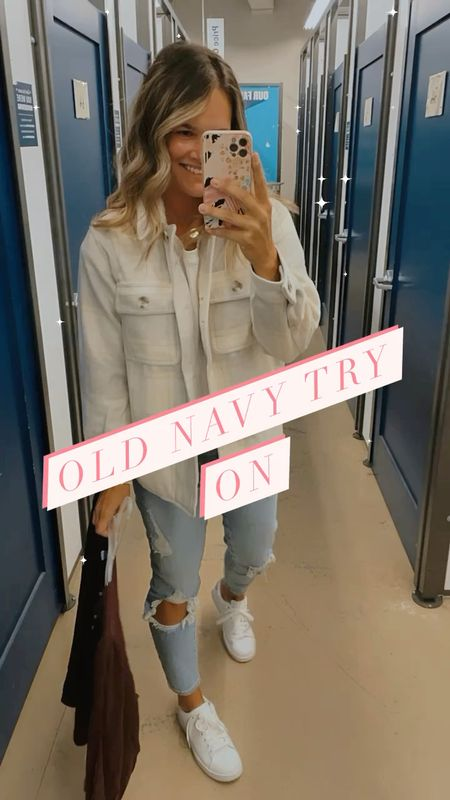 Which is your fav??? #oldnavy try on so many gems linking all in stories ✌️ #momstyle #falloutfits #sweaterweather #fallstyle #fallfashiontrends #shacket #fallfashion #everydaystyle #casualstyle #stylereels #stylereel #fashionreelscreator #fashionreel #affordablestyle #tryonhaul #oldnavyhaul #oldnavystyle #oldnavy