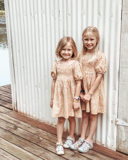 The sweetest floral dresses for girls. @liketoknow.it http://liketk.it/3fX5N #liketkit #LTKunder50 #LTKtravel #LTKfamily