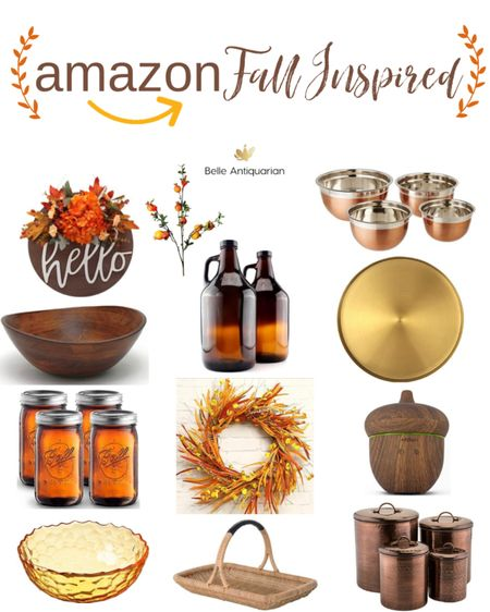 Warm up your home decor this fall with these lucky finds on Amazon! 🍂🍁🍃  #LTKunder50 #LTKhome #LTKfamily