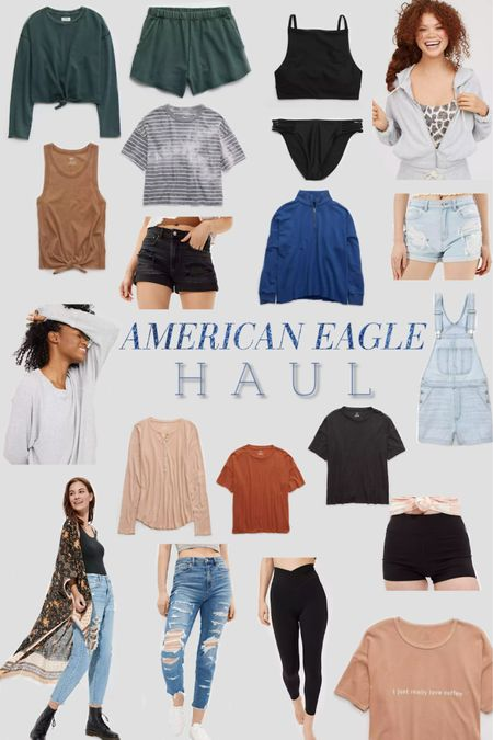 These products were all part of my most recent American Eagle haul! Tons of cute finds! 😊🙌🏻 http://liketk.it/3dSPL #liketkit @liketoknow.it #LTKsalealert #LTKstyletip #LTKunder100