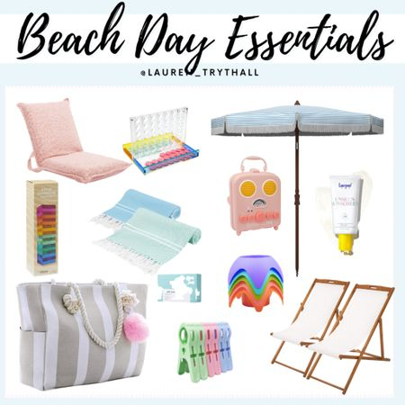 Beach Day Essentials from Amazon 🌴 perfect for vacation or a day trip to the beach   #LTKSeasonal #LTKswim #LTKtravel