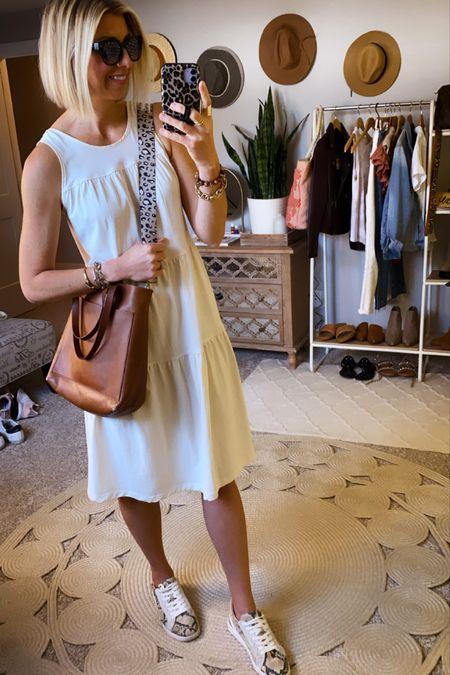 White dress for now in summer + into fall   #LTKshoecrush #LTKstyletip #LTKunder100