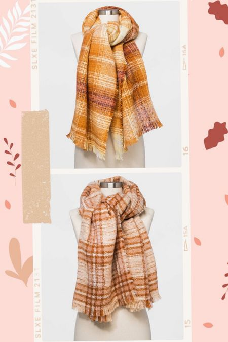 Plaid blanket scarves  #LTKunder100 #LTKunder50 #LTKSeasonal
