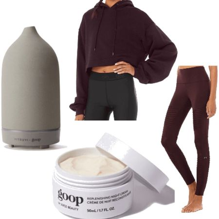 My favorite self care products for fall 2020! 1. Stone diffuser with led light. 2. Cropped sweatshirt 3. Moto leggings 4. Night cream for smoother softer skin. http://liketk.it/2YZp9 #liketkit @liketoknow.it #LTKbeauty @liketoknow.it.home