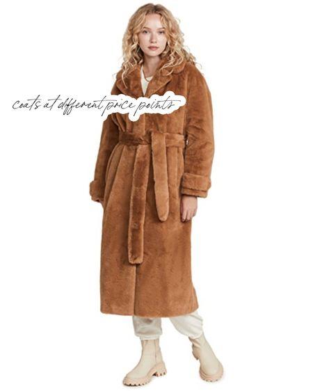 Coats at different price points 🤎   #LTKstyletip #LTKSeasonal