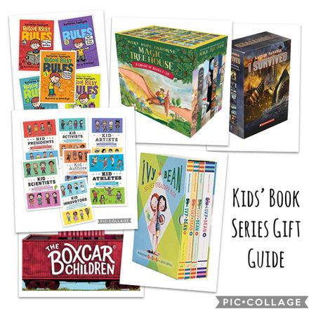 Great book gifts for your little readers! These are tried and true favorites in the classroom and in my home, my kids love these series!   http://liketk.it/31wyq #liketkit @liketoknow.it #LTKgiftspo Follow me on the LIKEtoKNOW.it shopping app to get the product details for this look and others