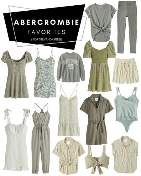 Abercrombie Favorites!!!  Abercrombie summer fashion   Abercrombie Summer favorites   Abercrombie Sale   Abercrombie summer sale   Abercrombie dress   Abercrombie jeans   Abercrombie swimsuit   Abercrombie t-shirt   Abercrombie top   Abercrombie swim   Kortney and Karlee   #kortneyandkarlee #LTKunder50 #LTKunder100 #LTKsalealert #LTKstyletip #LTKSeasonal @liketoknow.it #liketkit http://liketk.it/3hqge