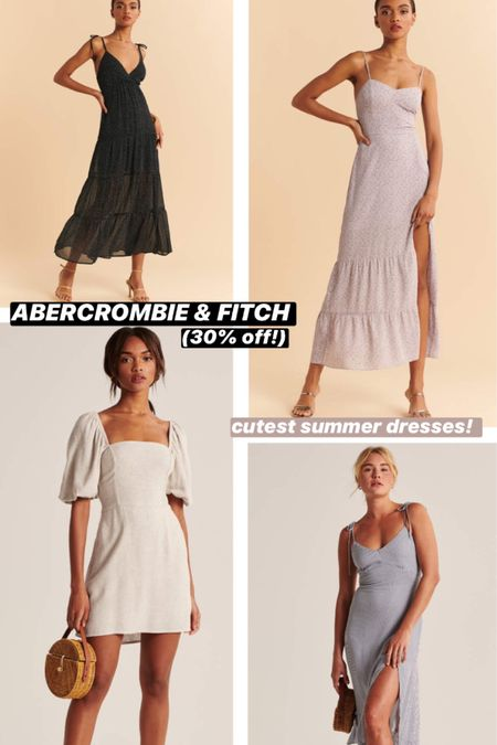 Abercrombie & Fitch always has the cutest summer dresses. These are perfect for any occasion and loved the cut on them. http://liketk.it/2SGlg #liketkit @liketoknow.it #LTKDay #LTKfit #LTKunder100
