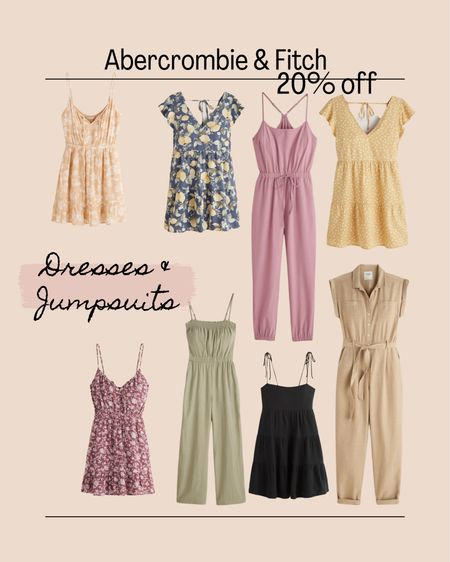 LTK Day Sale. Abercrombie  Dresses. Romper. Jumpsuit   #LTKsalealert #LTKDay #LTKstyletip