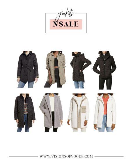 My favorite winter jackets including for fall and winter from the Nordstrom Anniversary Sale (NSALE)!   #LTKsalealert #LTKunder100 #LTKstyletip
