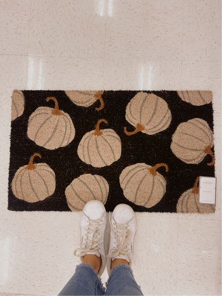 Fall decor at target! They have the cutest door mats right now perfect for fall!   #LTKhome #LTKunder50 #LTKfamily