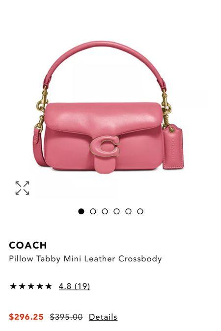Another Coach Pillow Tabby Mini Sale!   #LTKsalealert