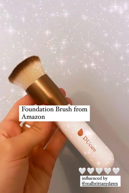 Must have $7 foundation brush! Amazon prime  #LTKsalealert #LTKGiftGuide #LTKbeauty