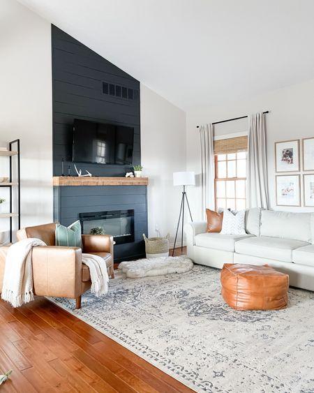 Cozy neutral modern boho living room.   #LTKhome