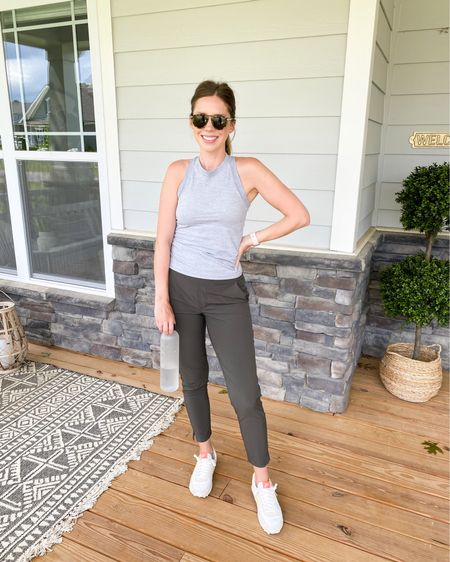 From a morning walk to dinner with the fam, these ankle pants are proving to be a closet staple for me 👏🏻 Love how they can be worn several different ways! @athleta semi-annual sale started today - up to 60% off through the 25th. Some color options of these tops are included, along with a lot of other items worth considering! // Linking up these outfits and other recommendations to browse here: http://liketk.it/3jPmT #liketkit @liketoknow.it #ad #athleta #powerofshe