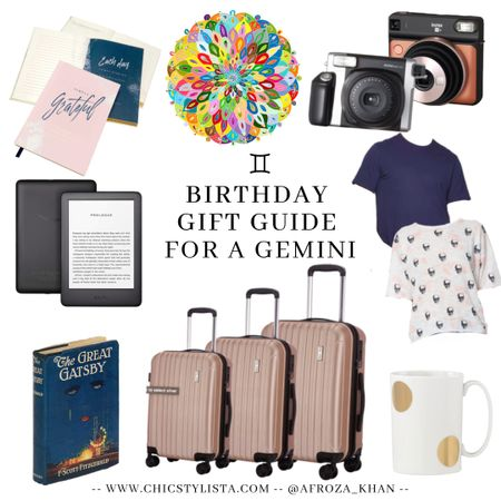 Gemini gift guide. Created the guide after I was looking for gifts for my sister. She's a Gemini and loves her Kindle, photography, and puzzles. Hope this guide helps 💕 http://liketk.it/2PICp @liketoknow.it #liketkit #LTKunder100 #LTKunder50 #LTKsalealert #LTKhome