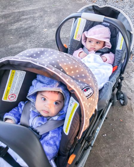 Our first chilly walk as a family! These fleece matching jackets with hoodies are perfect for our fall/winter outings. Gotta keep these Southern/Venezuelan blood warm! 👯♀️  I've also included some items I was wearing in my Insta Stories.   http://liketk.it/2ZVYb #liketkit @liketoknow.it #LTKkids #LTKcurves #LTKunder50 @liketoknow.it.family   Shop my daily looks by following me on the LIKEtoKNOW.it shopping app