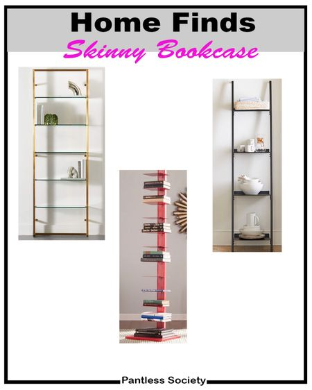 Space saving. Fall decor. Home decor. Home update. Bookcase. Bookshelf. Skinny bookcase. Room saving. Living room. Home office. Kids room. Bedroom. Dining room.  #LTKfamily #LTKstyletip #LTKhome