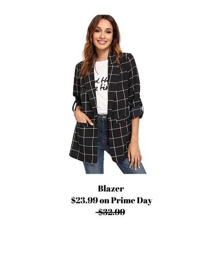 One of my favorite, thin blazers! It's on sale for $23.99. Normally $32.99.   http://liketk.it/3i9pF #liketkit @liketoknow.it #LTKsalealert #LTKunder50 #LTKstyletip