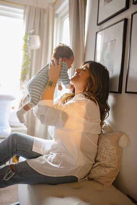 Golden hour with my baby boy!💙👶🏻💘 baby boy clothes, baby clothes, baby onesie, ltk sale, walmart fashion  #LTKfamily #LTKSale #LTKbaby