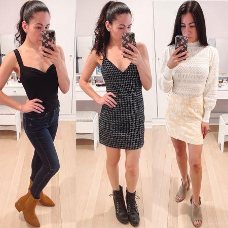 New Abercrombie styles on sale this weekend! My favorite is the tweed mini dress.   #LTKSale #LTKunder50 #LTKSeasonal