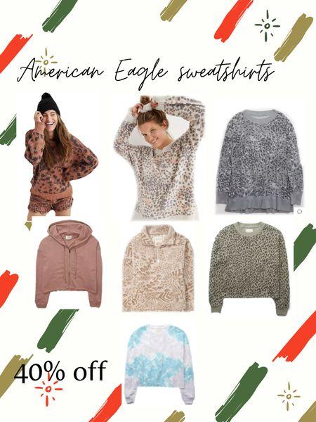 American eagles sweatshirts are on sale 40% off!! Run!!!   #StayHomeWithLTK #LTKunder50 #LTKsalealert