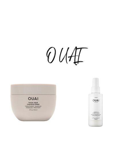 Amazing products from OUAI   http://liketk.it/3cHPy #liketkit @liketoknow.it #LTKbeauty