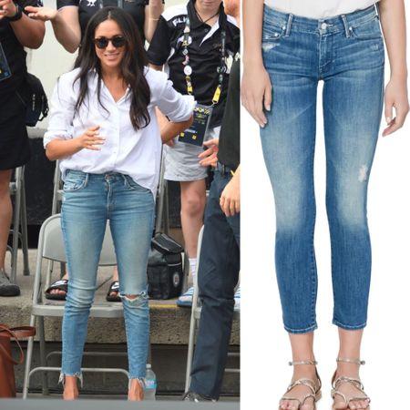 Mother denim at Nordstrom anniversary sale #jeans #capris #pants   #LTKsalealert #LTKstyletip