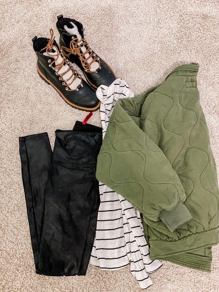 Amazon fashion finds  #amazonfashion #amazoninfluencer #blanknyc #spanx #boots #ltkunder100  #LTKunder50 #LTKHoliday #LTKstyletip
