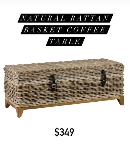 Doubles as storage as well as a coffee table!    #LTKfamily #LTKhome #LTKstyletip