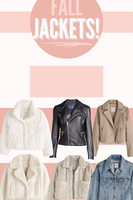 These fall jackets from Abercrombie & Walmart are must haves this season! Loving the textures and colors that Abercrombie came out with! #falljacket #jacket #coat #fall #abercrombie #walmart  #LTKSeasonal #LTKstyletip #LTKunder100