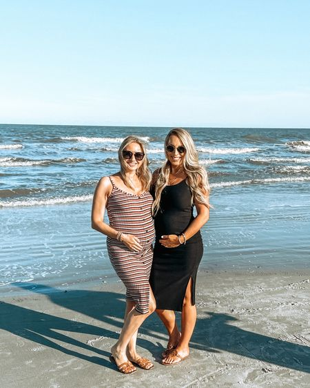 Baby bumps 🤰🏼 Last pregnancy we were 6 weeks apart with our boys, and now we are only 3.5 weeks apart 🥰 Nobody believes us when we say neither time was planned together 😂 Our resort was right on the ocean so it was really nice to walk right out to the beach & we even did some biking along the water to a tiki bar for lunch! So fun! http://liketk.it/3fZ5q #liketkit @liketoknow.it  . . . . . #beach #babymoon #hiltonheadisland #ocean #pregnant #secondtrimester #26weekspregnant #itsaboy #babyboy #babybump #travel #targetstyle #vacation #hhi #fashion #style #ootd #outfitoftheday #bumpstyle #bestfriend #bestie #preggers #baby #maternity #LTKbump #LTKtravel #LTKunder50