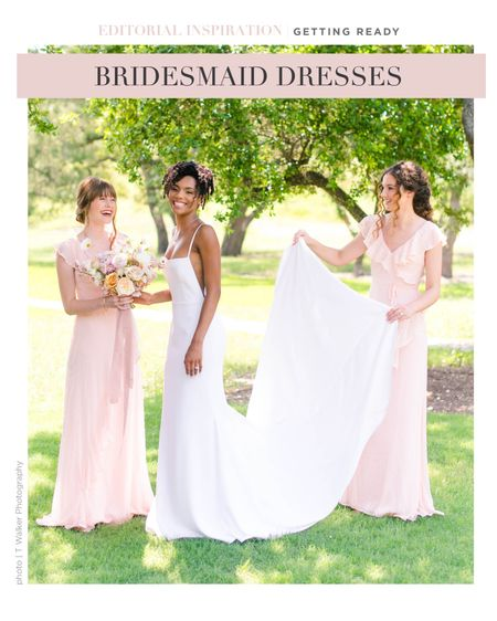 Whimsical bridesmaid dresses at a great price point!   #LTKstyletip #LTKwedding
