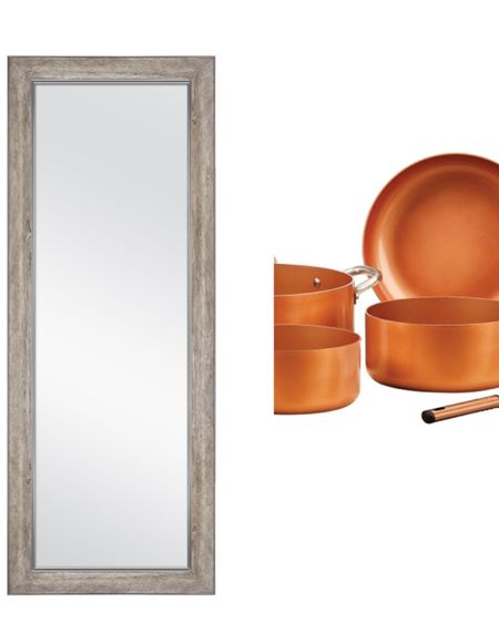 http://liketk.it/38vSN #liketkit @liketoknow.it grab this beautiful floor mirror and some awesome cookware all while at Walmart!