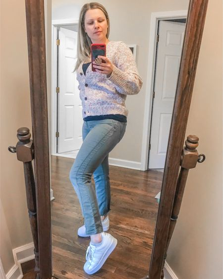 Feeling like a ✨superstar in my Adidas Superstar sneakers (highly recommend sizing down by 1.5 sizes)! If you're looking for a comfy, cozy cardigan, this one by J.Crew is quickly becoming my fave!   http://liketk.it/2Y9a8 #liketkit @liketoknow.it #LTKshoecrush #LTKstyletip #LTKfall