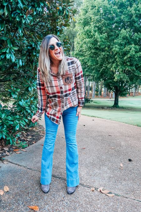 Five ways to wear a plaid layering tunic this fall. Can't get enough of the monogrammed detail! 💕  #LTKSeasonal #LTKGiftGuide #LTKstyletip