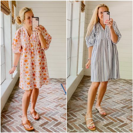 Love this dress so much I have it in two colors! Currently on sale for 20% off!   #LTKsalealert #LTKstyletip #LTKunder50