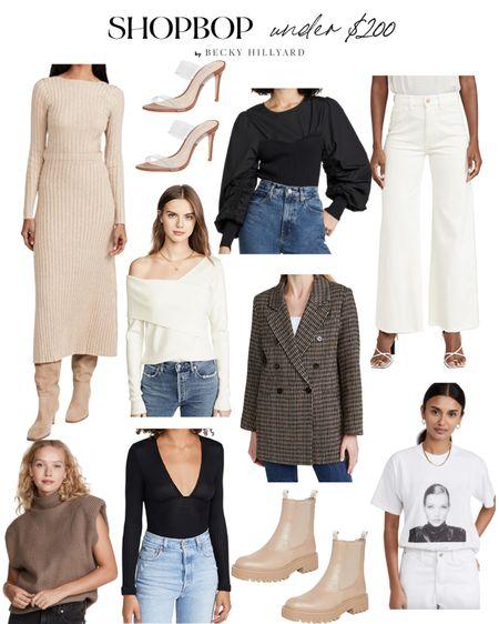 Shopbop under $200 picks   #LTKstyletip