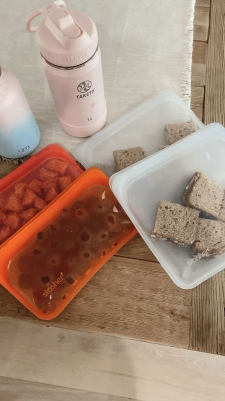 Plastic free food grade silicone bag for snacks… dishwasher safe… and seal really well. //   #LTKhome