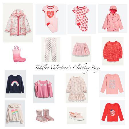 Toddler Valentine's Clothing   http://liketk.it/36UNu #liketkit #LTKVDay #LTKfamily #LTKbaby @liketoknow.it