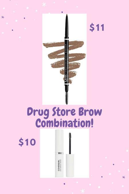 Drugstore brow combo!!  http://liketk.it/3fO0e #liketkit @liketoknow.it #eyebrows #brows #browpencil #browgel