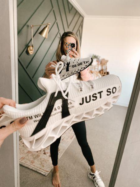 Non Slip Athletic Sneakers Color: 1-white/TTS/wearing a size 9  #ifounditonamazon #amazonfashion #amazonfinds #outfitoftheday #ootd #outfitideas #outfitinspo #amazonshoes   http://liketk.it/3pOiI @liketoknow.it #liketkit #LTKSeasonal #LTKfit #LTKstyletip #LTKshoecrush