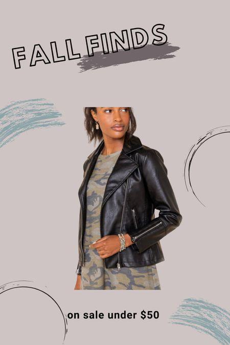 Leather jackets I love on sale   #LTKSale #LTKsalealert #LTKHoliday