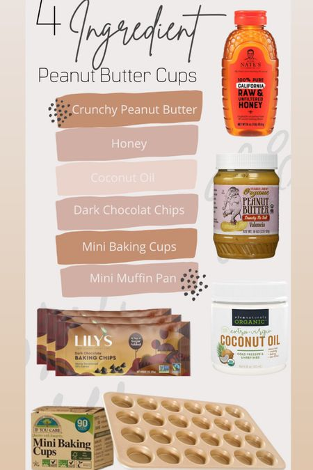 What you need to make my 4 ingredient peanut butter cups!    http://liketk.it/39o4o #liketkit @liketoknow.it #LTKhome #LTKfamily #LTKunder50