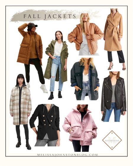 Fall jackets to transition you from summer to the beginning of winter   #LTKsalealert #LTKSeasonal #LTKstyletip