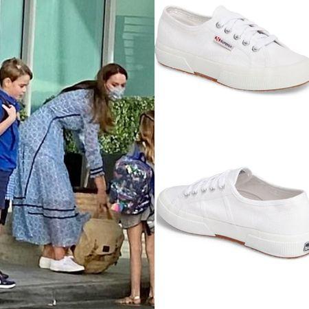 Kate wearing Superga Cotu sneakers #shoes #walking #skechers   #LTKshoecrush #LTKeurope #LTKstyletip