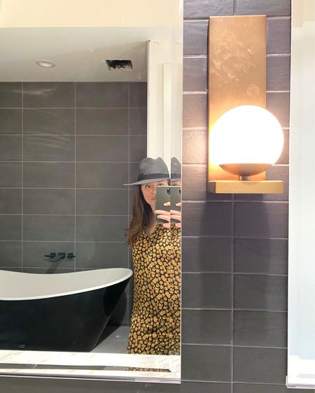 New build modern Tudor primary bathroom http://liketk.it/31JGV #liketkit @liketoknow.it Follow me on the LIKEtoKNOW.it shopping app to get the product details for this look and others