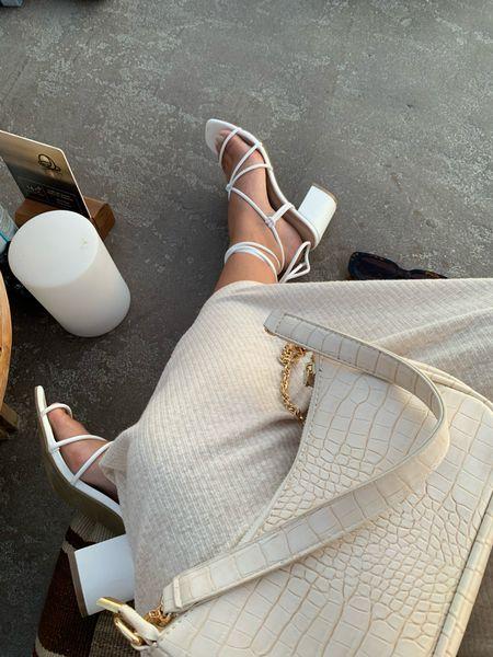 Heels dress shoes and sunglasses